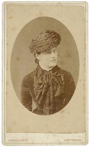 Portret van Louisa Jacoba Quarles van Ufford (1858-1937)