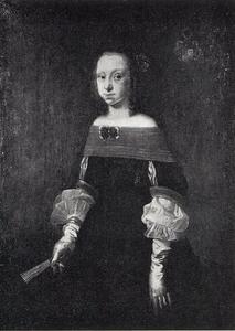 Portret van Birgitte Skeel (1638-1699)