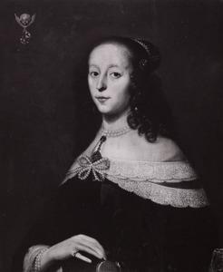 Portret van Dorothea Clara de Jong (1624-1652)