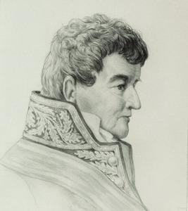 Portret van van een man, genaamd Arnoldus van Gennep (1766-1846)