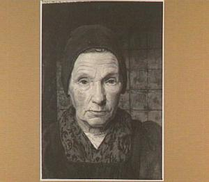 Portret van een Larense boerin