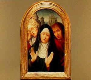 Treurende Maria met de HH. Maria Magdalena en Johannes de Evangelist