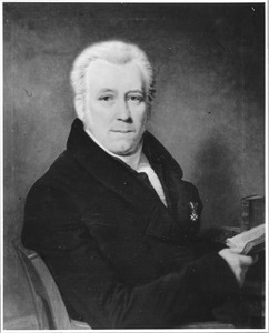 Portret van Jan Fabius (1776-1850)