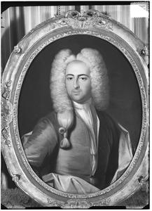 Portret van Aegidius Groeninx van Zoelen (1703-1737)