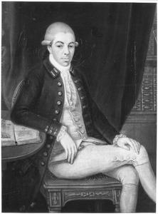 Portret van Cornelis Groeninx van Zoelen (1740-1791)