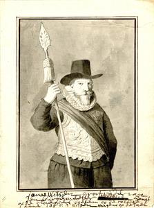 Portret van Jonas Cornelisz. Witsen (1566-1626)