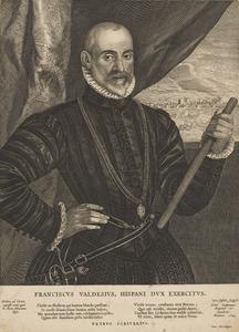 Portret van Francisco de Valdez ( -1580)