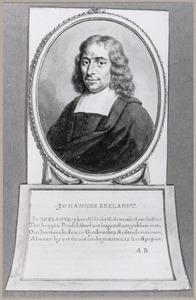 Portret van Johannes Reeland (1648-1703)