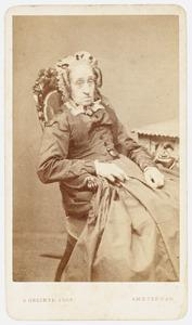 Portret van Hillegonda Anna Agnes Sophia Hendrika van Rechteren (1794-1869)