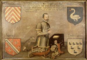 Memorietafel met van Willem Florisz. van Cranenbrouck (....-1459)