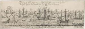 Hertog van York begroet de Koninklijke Marine in het Kanaal