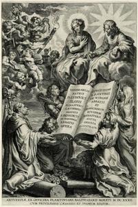 Titelpagina voor L. Blosius, Opera, Antwerpen 1632