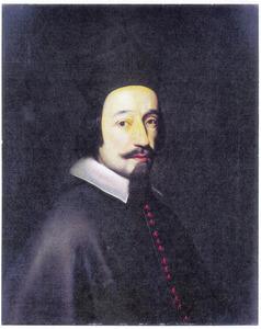 Portret van de pauselijk nuntius Fabio Chigi (1599-1667), later paus Alexander VII