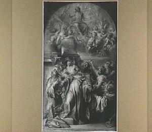 Het visioen van de H. Augustinus