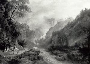 De watervallen bij Tivoli