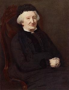 Portret van Johanna Antonetta Lubbina van Bergen (1813-1891)