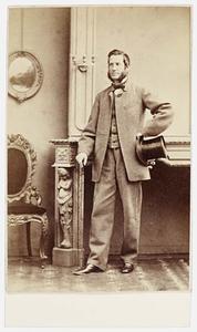 Portret van Hendrik Jan Abraham van Son (1823-1880)