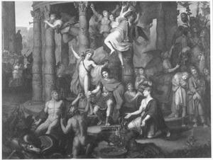 Allegorie op de triomf van een Romeinse generaal