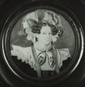Portret van Joanna Carolina Catshoek (1795-1835)