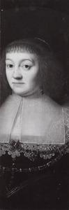 Portret van Anna Johanna van Nassau -Siegen (1594-1636)