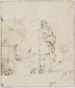 Christus verschijnt na zijn dood aan Maria Magdalena (Johannes 20:11-18)
