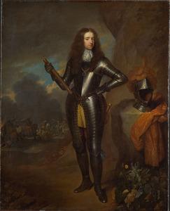 Portret van prins Willem III van Oranje Nassau (1650-1702)