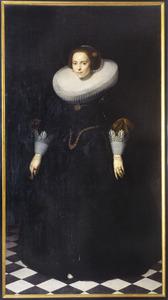 Portret van Eva Bicker (1609-1665)