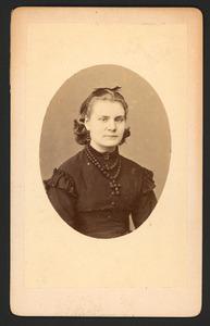 Portret van Arnoldina Adriana Buyskes (1853-1875)