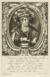 Portret van Arnold van Egmond (1410-1473), hertog van Gelre