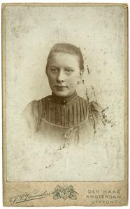 Portret van Alida Frederika Mol (1884-1925)
