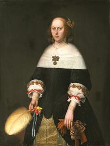 Portret van Brigitta de Groot (1638-1686)