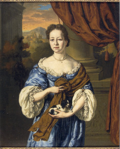 Portret van een persoon genaamd Catharina Elisabeth Roman (1675-1754)