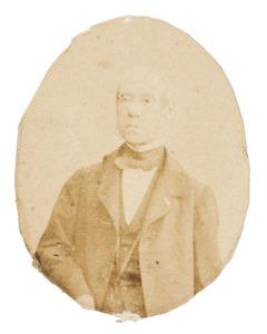 Portret van Edzard Hobbe baron Rengers (1803-1879)