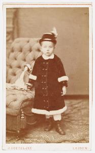 Portret van Dorothea Catharina Helena Christina de Stoppelaar (1875-1948)