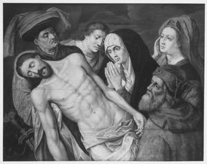 De bewening van Christus in halffiguur