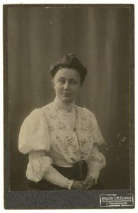 Portret van Ida Jacoba Heyting (1869-1953)