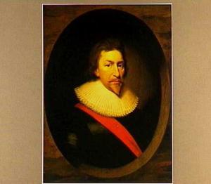 Portret van Sir Christopher Nevill