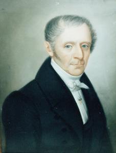 Portret van Johannes van Brummelen ( -1867)