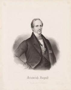 Portret van Friedrich August II Albert Maria Klemens etc. van Saksen (1797-1854)