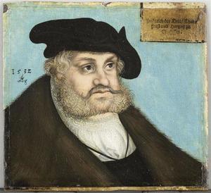 Portret van Frederik de Wijze, keurvorst van Saksen (1463-1525)