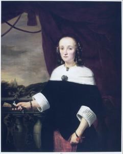 Portret van Anna Maria van Nutt (1622-1686)