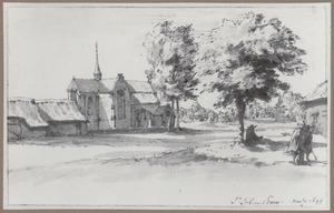 De kerk van St. Job in 't Goor
