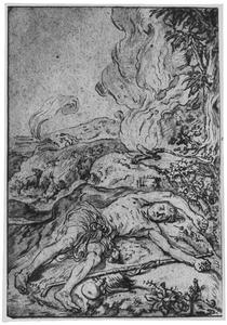 Abel door Kaïn gedood