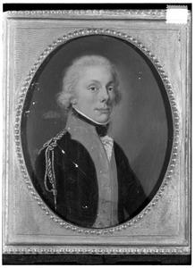 Portret van een man, mogelijk Alexander Willem Jacob van Spaen (1775-1811)