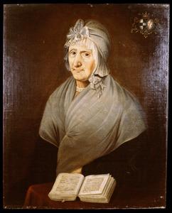 Portret van Maria Theresia Barbara Kutschrütter (?-1812)