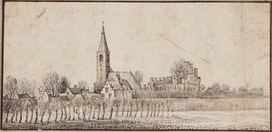 Het dorp Rijnsburg