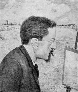 Portret van Gerrit Haverkamp (1872-1926)