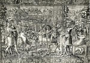Aankomst van Karel de Grote in Rome