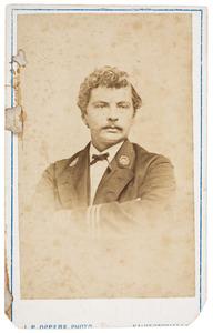 Portret van Alexander Geerhardt Mörzer Bruijns (1838-1900)