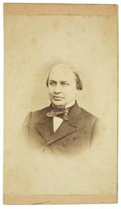 Portret van Isaac Dignus Fransen van de Putte (1822-1902)